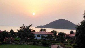 sunrise on Chilika Lake