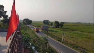 view from shantiniketan guest house